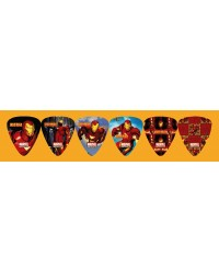 Iron Man Pack of 6 Picks (IM2)